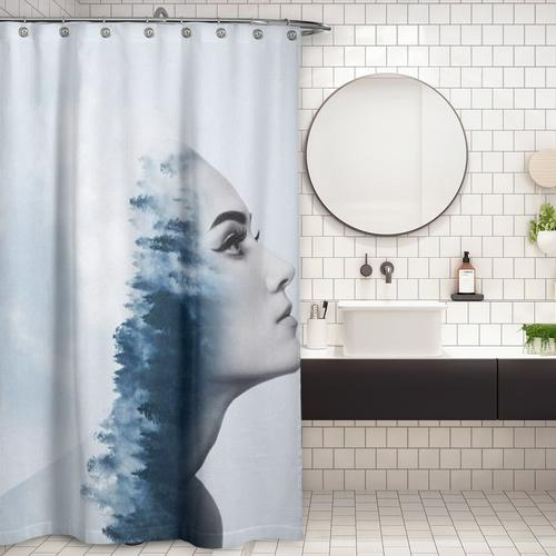 Cortina de Baño blue dreams