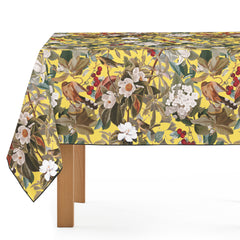 Mantel de Hule Floral and Birds XXVII-I