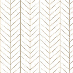 Papel Mural Lineas Chevron Taupe