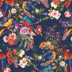 Papel Mural FLORAL AND BIRDS XII