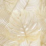 Pouf Golden Monstera