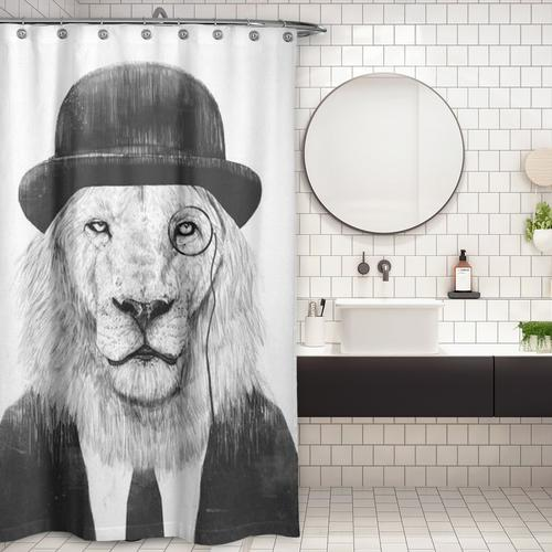 Cortina de Baño Sir Lion