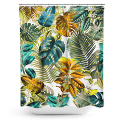 Cortina de Baño Tropical Pattern