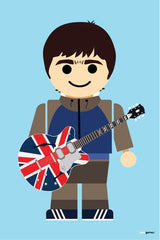 Canvas Noel Gallagher Toy