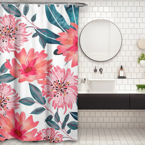 Cortina de Baño Yours Florally
