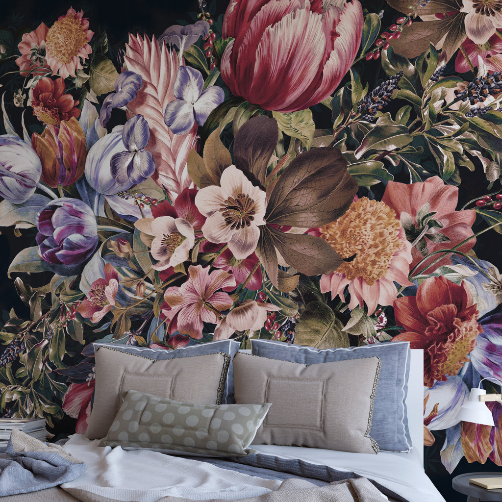 Papel Mural Midnight Garden VII