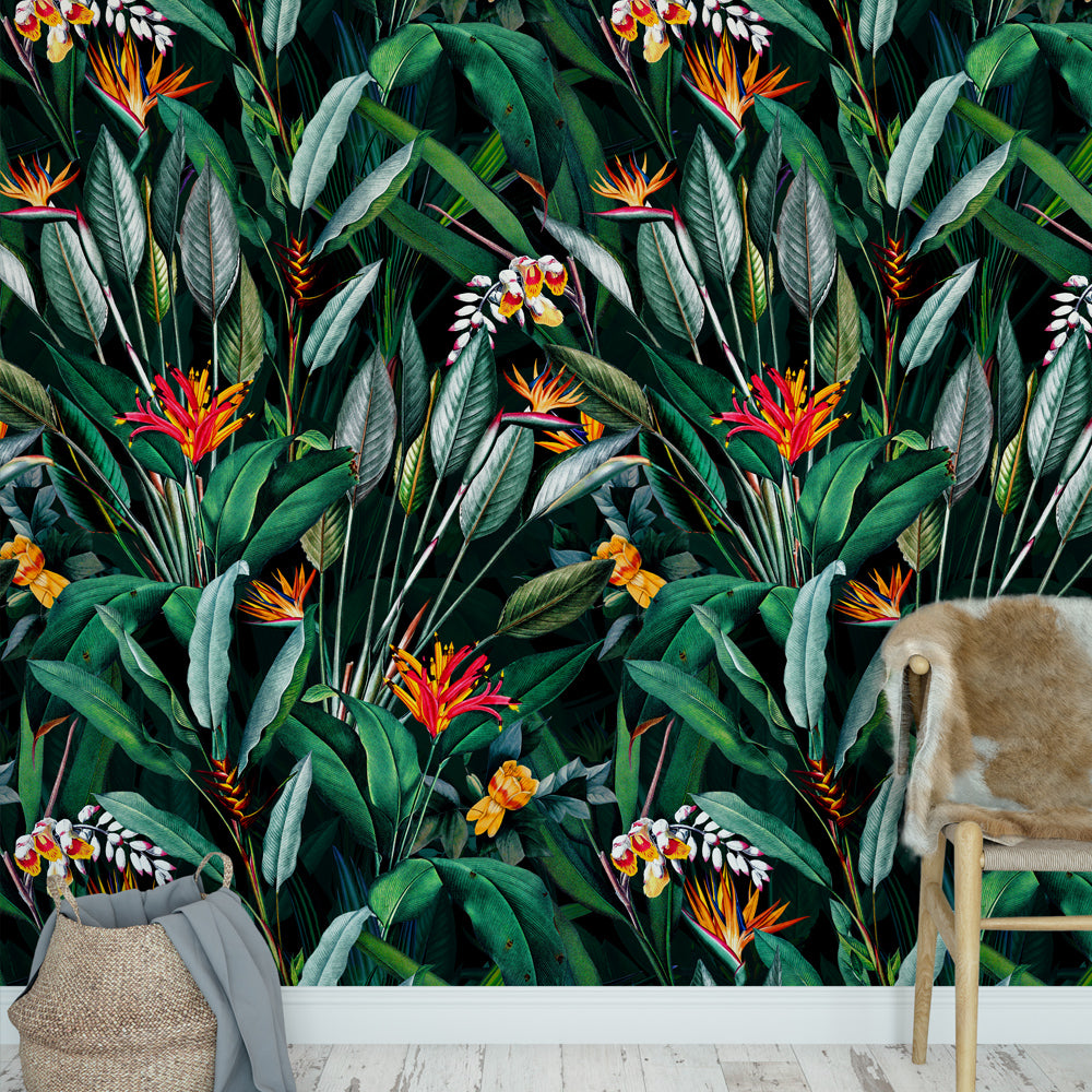 Papel Mural Midnight Garden V