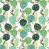 Papel Mural Tropical Leaves