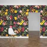 Papel Mural Floral and Bird V