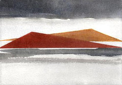 Individual Abstract Watercolor Landscape 3
