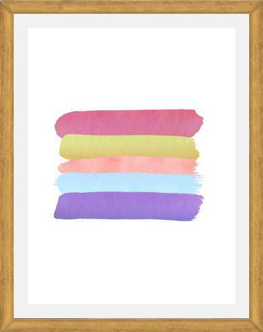 Cuadro Watercolor Brush Strokes