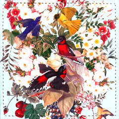 Posavaso Floral and Birds XXXI