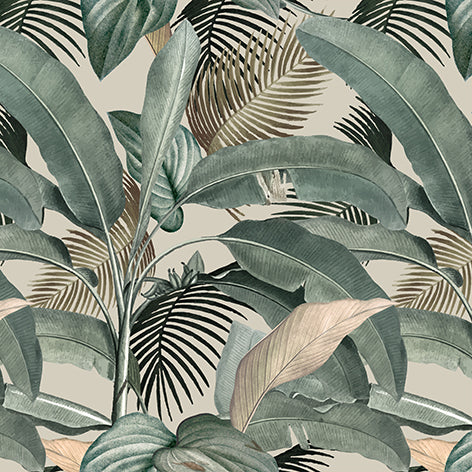 Papel Mural Tropical Vintage II