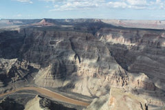 Canvas grand canyon panoramic view