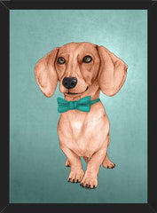 Cuadro Dachshund, The Wiener Dog