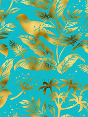 Canvas Gold Fauna