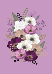 Canvas Anemonas Bouquet II