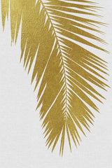 Lámina Palm Leaf Gold I
