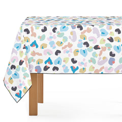 Mantel de Hule Colorful Leopard Pattern