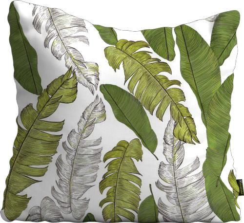 Cojín de Piso Hand drawn beautiful tropical leaves