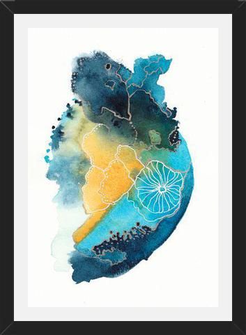 Cuadro Watercolor improvisation 02