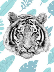 Canvas Tropical Tiger