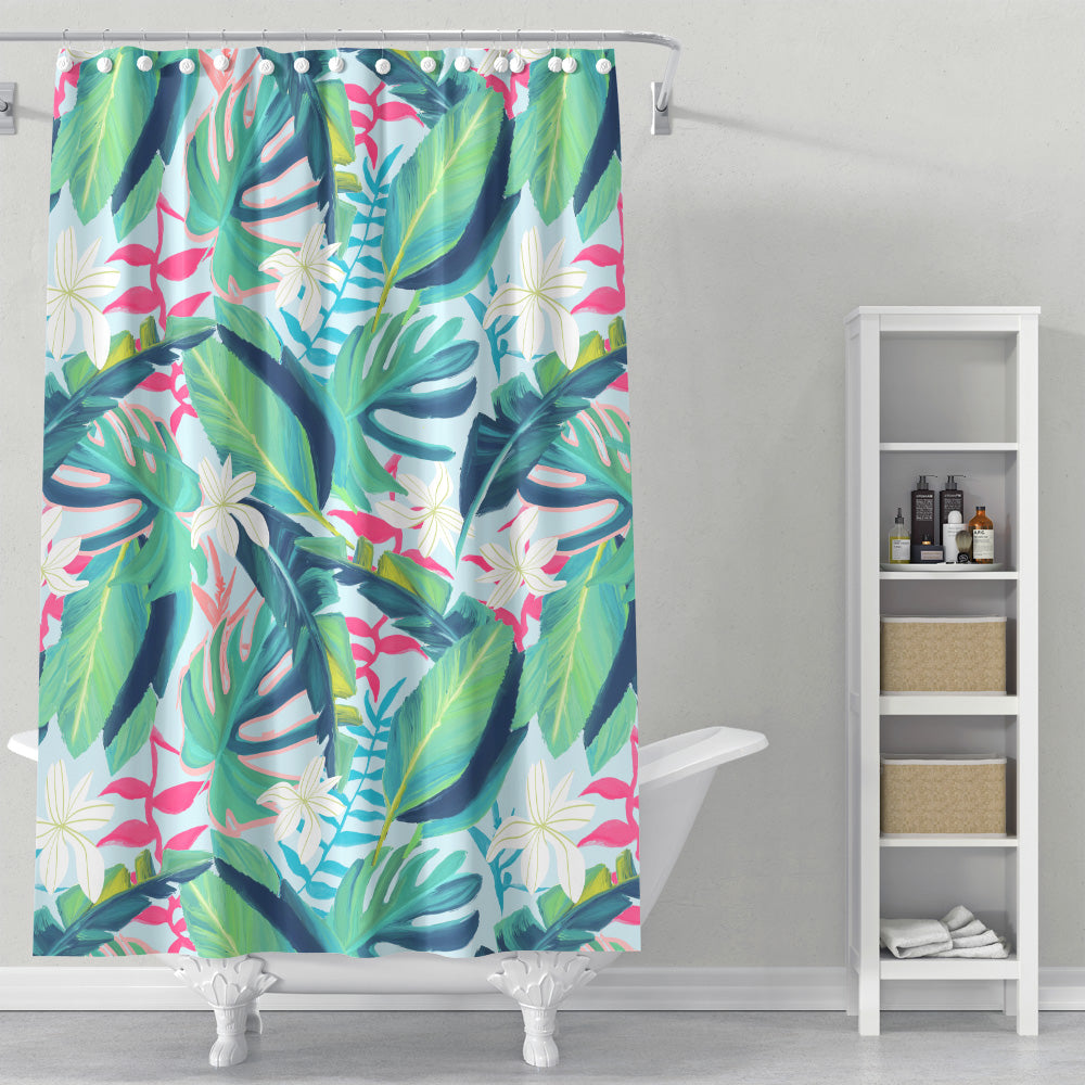Cortina de Baño Tropical Eye Candy