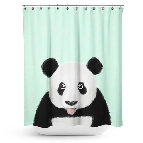 Cortina de Baño The Cute Panda