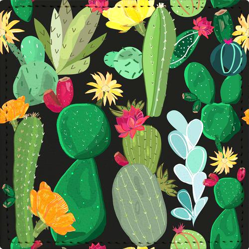 Posavaso Cactus and Succulents Pattern