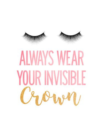 Canvas Always Wear Your Invisible Crown