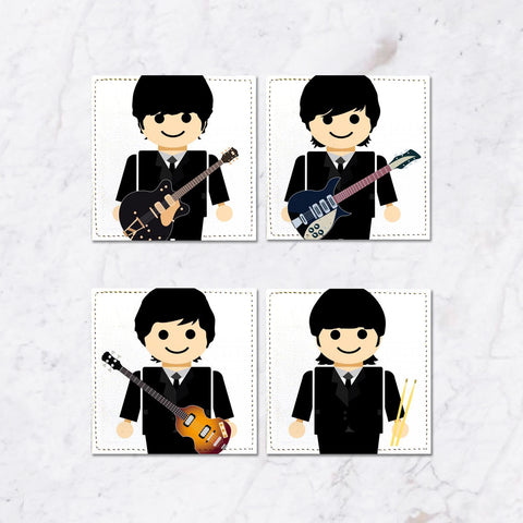 Posavasos The Beatles Toys I Collection