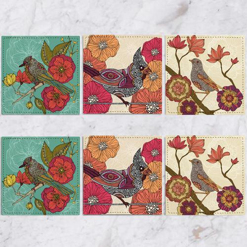 Posavasos Birds Collection