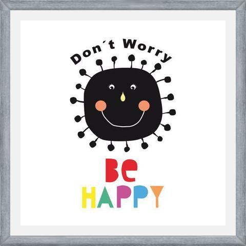 Cuadro Don´t Worry, be happy