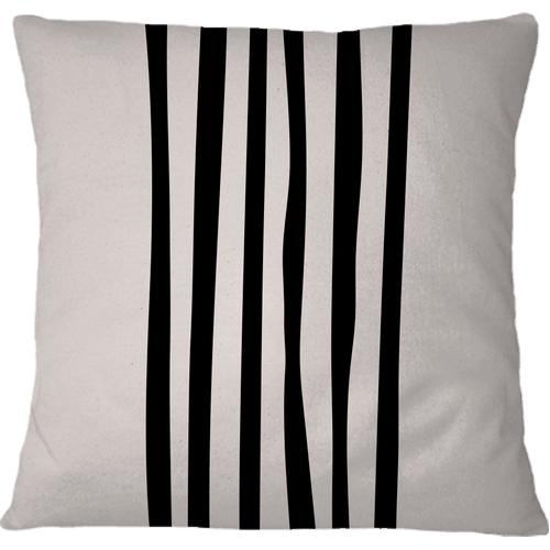 Cojín Pillows Lines Black