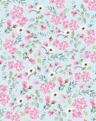 Canvas Romantic pattern
