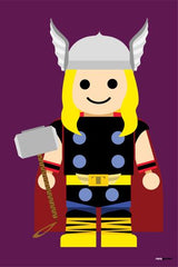Canvas Thor Toy