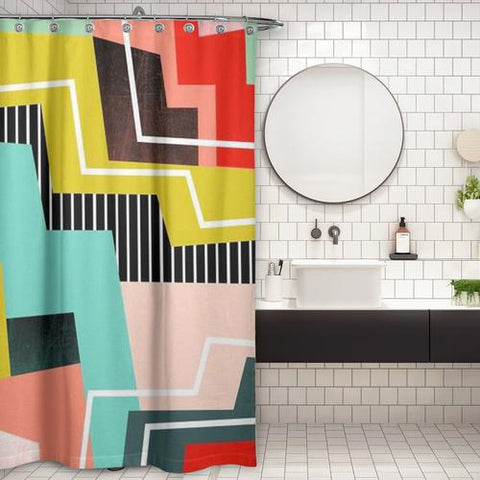 Cortina de Baño ColorBlock