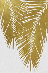 Lámina Palm Leaf Gold II