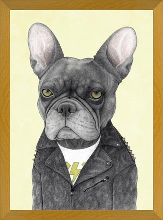 Cuadro Hard Rock French Bulldog