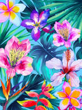 Canvas The Tropical Flowers