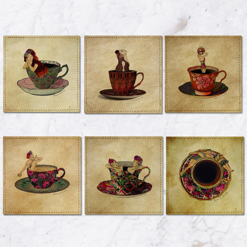 Posavasos Tea Time Collection