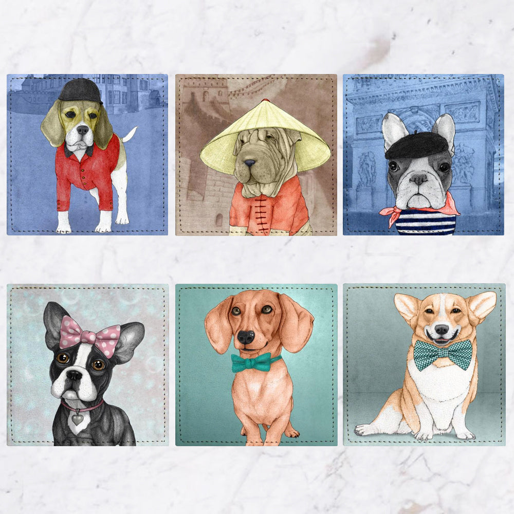 Posavasos Dogs II Collection