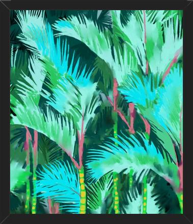 Cuadro Palm Forest