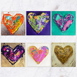 Posavasos Hearts Collection - Galeria Impresionarte