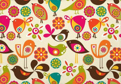 Individuales Little birds - Galeria Impresionarte