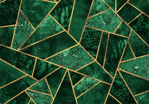 Individuales Deep Emerald