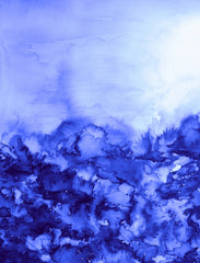Canvas INTO ETERNITY, INDIGO PURPLE