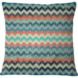 Cojin Abstract Chevron Pattern - Galeria Impresionarte