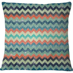 Cojin Abstract Chevron Pattern
