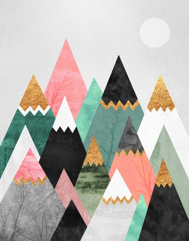Canvas Pretty Mountains - Galeria Impresionarte